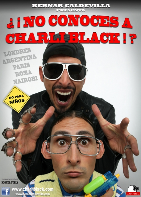 2011 No conoces a Charli Black de Bernar Caldevilla